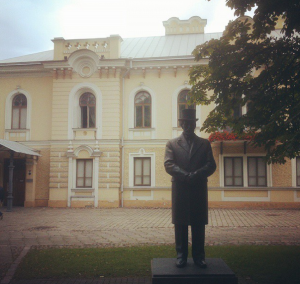 The presidential palace when Kaunas was the capital