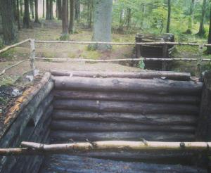 reconstructed bunker