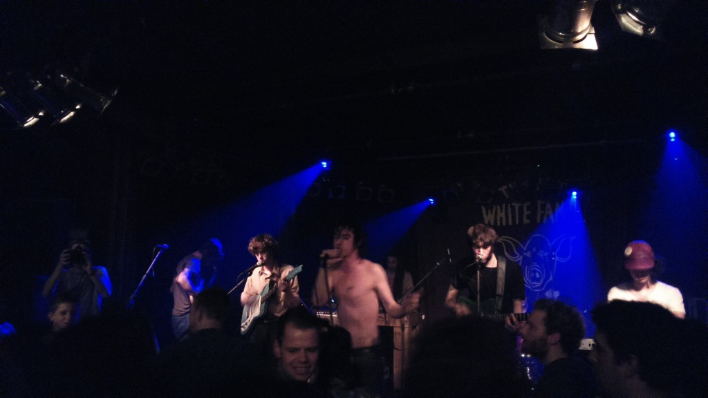 Fat White Family getting it on.