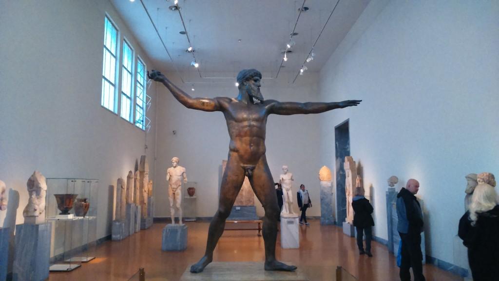 Statue of Zeus or Poseidon