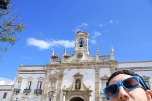 Faro has some marvelous city gates, full of nestling Storks.