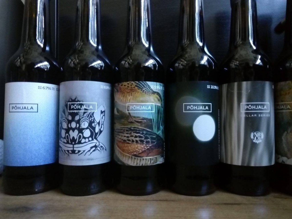 yeah, this is some of the beer from Pohjala with very cool labels.